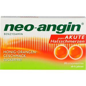 NEO-ANGIN Benzydamin akute Halsschmerz.Honig-Oran.