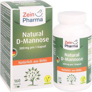 NATURAL D-Mannose 500 mg Kapseln