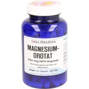 MAGNESIUMOROTAT 550 mg GPH Kapseln
