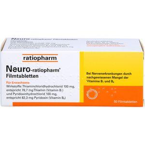 NEURO-RATIOPHARM Filmtabletten
