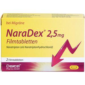 NARADEX 2,5 mg Filmtabletten
