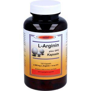 L-ARGININ+OPC 600 mg Kapseln