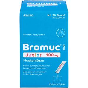 BROMUC akut Junior 100 mg Hustenlöser P.H.e.L.z.E.