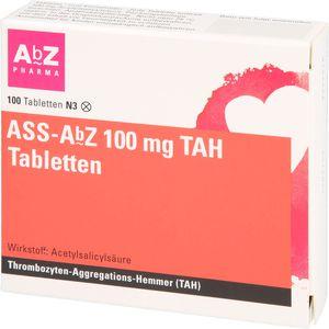 ASS AbZ 100 mg TAH Tabletten