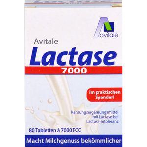LACTASE 7.000 FCC Tabletten im Spender