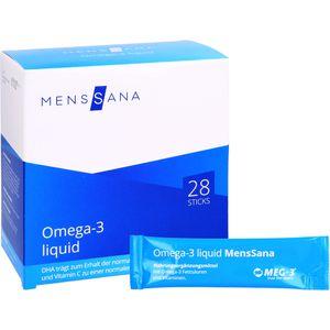 OMEGA-3 liquid MensSana Sticks