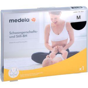 MEDELA Schwangerschafts- u.Still-BH M schwarz
