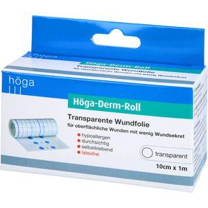HÖGA-DERM-Roll transparente Wundfolie 10 cmx1 m