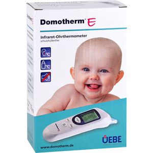 DOMOTHERM E Infrarot-Ohrthermometer schutzhül.frei
