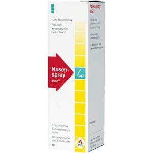 NASENSPRAY elac 1 mg/ml ohne Konservierungsstoffe