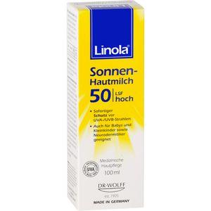 LINOLA Sonnen-Hautmilch LSF 50