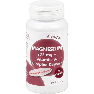 MAGNESIUM 375 mg+Vitamin B Komplex Kapseln