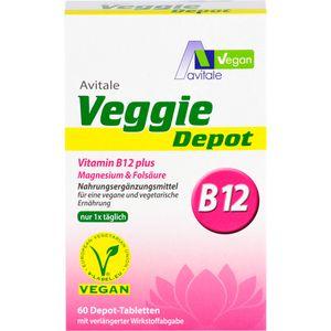 VEGGIE Depot Vitamin B12+Magnesium+Folsäure Tabl.