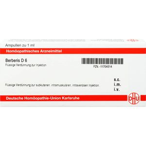 BERBERIS D 6 Ampullen