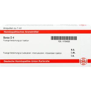 BORAX D 4 Ampullen