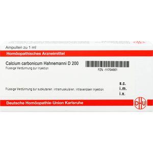 CALCIUM CARBONICUM Hahnemanni D 200 Ampullen