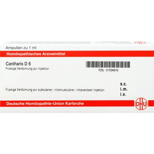 CANTHARIS D 6 Ampullen