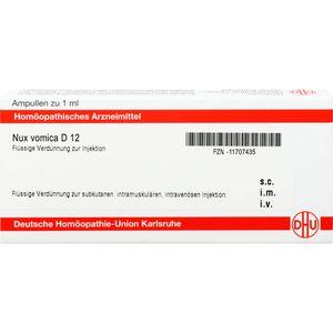 NUX VOMICA D 12 Ampullen