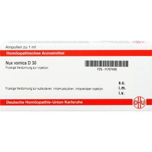 NUX VOMICA D 30 Ampullen