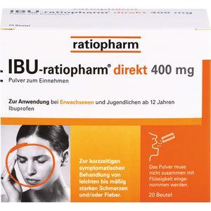 IBU-RATIOPHARM direkt 400 mg Pulver zum Einnehmen
