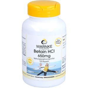 BETAIN HCL 650 mg Kapseln