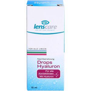 LENSCARE Drops Hyaluron Lösung