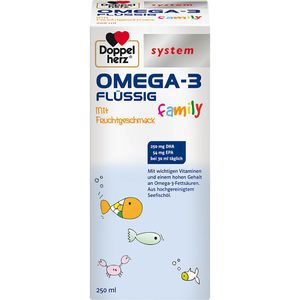 DOPPELHERZ Omega-3 family system flüssig