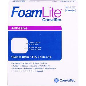 FOAM LITE ConvaTec adhäsiv PU-Schaumverb.10x10 cm