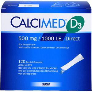 CALCIMED D3 500 mg/1000 I.E. Direct Granulat