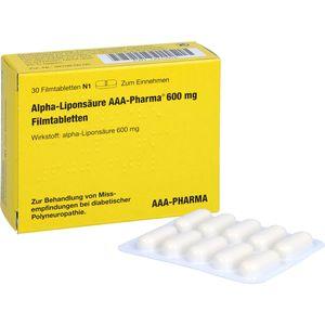 ALPHA LIPONSÄURE AAA Pharma 600 mg Filmtabletten
