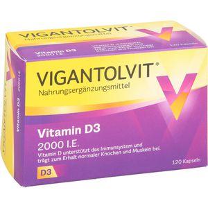VIGANTOLVIT 2.000 I.E. Vitamin D3 Weichkapseln