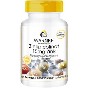 ZINKPICOLINAT 15 mg Zink Tabletten