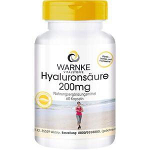 HYALURONSÄURE 200 mg Kapseln
