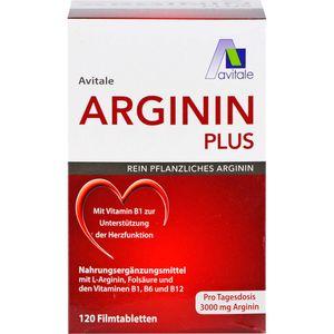 ARGININ PLUS Vitamin B1+B6+B12+Folsäure Filmtabl.
