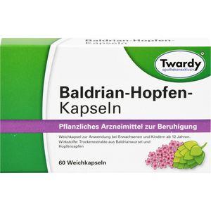 BALDRIAN HOPFEN Kapseln Twardy