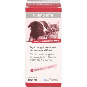 PULMO ALFA Ergänzungsfutterm.flüss.f.Hunde/Katzen