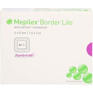 MEPILEX Border Lite Schaumverb.4x5 cm steril