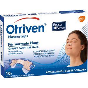 OTRIVEN Besser Atmen Nasenstrips normal beige