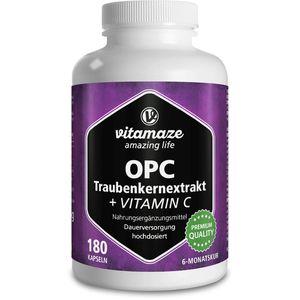 OPC TRAUBENKERNEXTRAKT hochdosiert+Vitamin C Kaps.