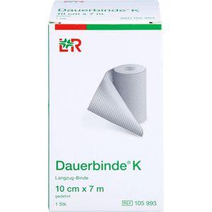 DAUERBINDE kräftig 10 cmx7 m