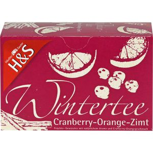 H&S Wintertee Cranberry-Orange-Zimt Filterbeutel