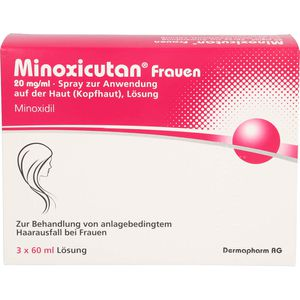 MINOXICUTAN Frauen 20 mg/ml Spray