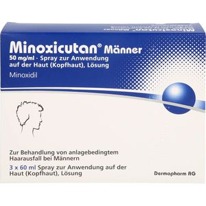 MINOXICUTAN Männer 50 mg/ml Spray