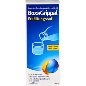 BOXAGRIPPAL Erkältungssaft