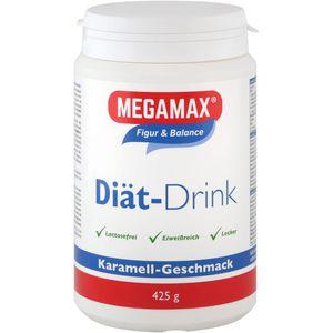 MEGAMAX Diät Drink Karamell Pulver
