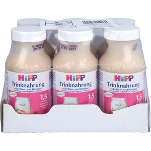 HIPP Trinknahrung Erdbeer/Himbeergeschm.KS.Fl.