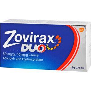 ZOVIRAX Duo 50 mg/g / 10 mg/g Creme