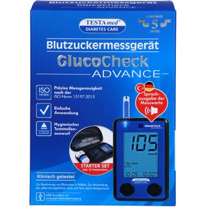 TESTAMED GlucoCheck Advance Star.-Kit mg/dl mmol/l
