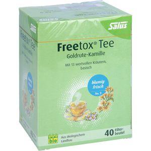FREETOX Tee Goldrute-Kamille Bio Salus Filterbeut.