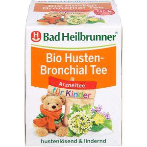 BAD HEILBRUNNER Bio Husten-Bronchial Tee f.Kdr.FB